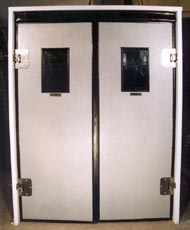 Puertas industriales soluciones vaiv n - Bisagras de vaiven ...